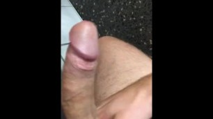 Public toilet jerk off